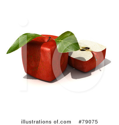 Red Apples Clipart #79075 by Frank Boston
