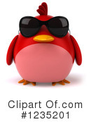 Red Bird Clipart #1235201 by Julos