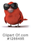 Red Bird Clipart #1266495 by Julos