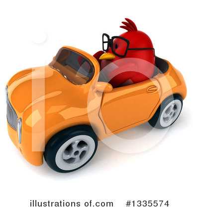 Red Bird Clipart #1335574 by Julos