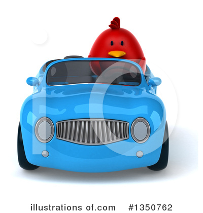 Red Bird Clipart #1350762 by Julos