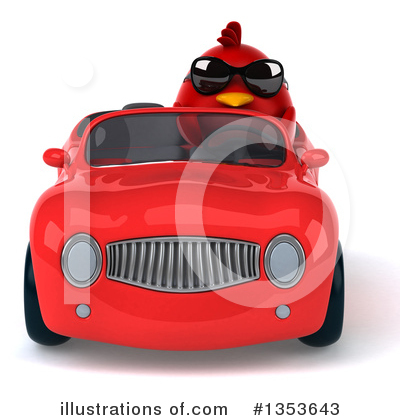 Red Bird Clipart #1353643 by Julos