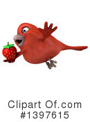 Red Bird Clipart #1397615 by Julos