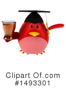 Red Bird Clipart #1493301 by Julos
