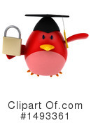 Red Bird Clipart #1493361 by Julos