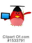 Red Bird Clipart #1533791 by Julos