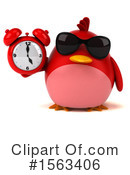 Red Bird Clipart #1563406 by Julos