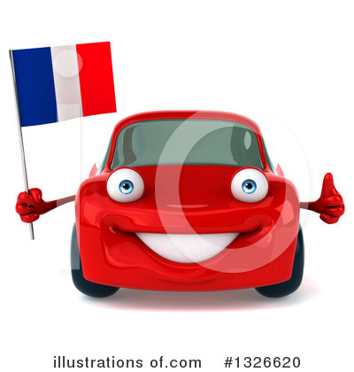 Red Porsche Clipart #1326620 by Julos