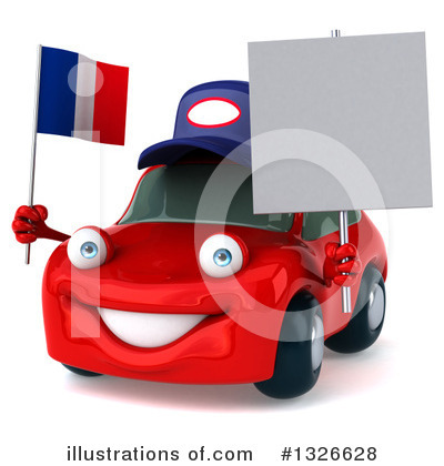Red Porsche Clipart #1326628 by Julos