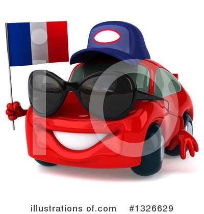 Red Porsche Clipart #1326629 by Julos