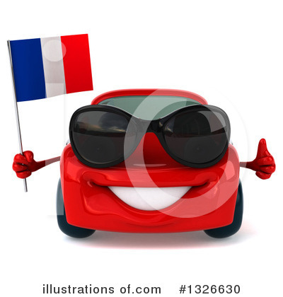 Red Porsche Clipart #1326630 by Julos