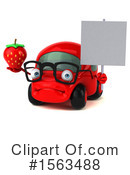 Red Car Clipart #1563488 by Julos