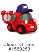 Red Car Clipart #1569269 by Julos