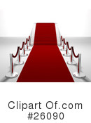 Red Carpet Clipart #26090 by KJ Pargeter
