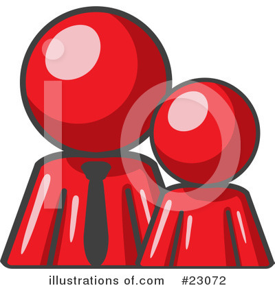 Royalty-Free (RF) Red Collection Clipart Illustration by Leo Blanchette - Stock Sample #23072