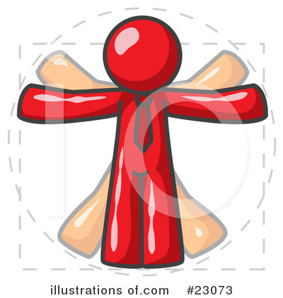 Royalty-Free (RF) Red Collection Clipart Illustration by Leo Blanchette - Stock Sample #23073