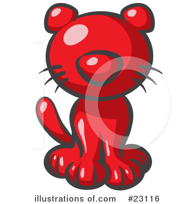 Royalty-Free (RF) Red Collection Clipart Illustration by Leo Blanchette - Stock Sample #23116
