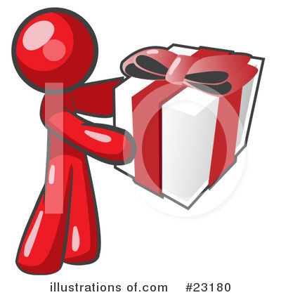 Red Collection Clipart #23180 by Leo Blanchette