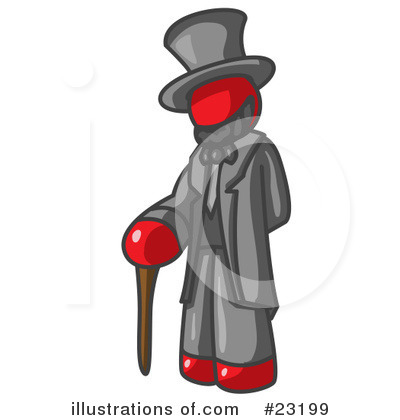 Abraham Lincoln Clipart #23199 by Leo Blanchette