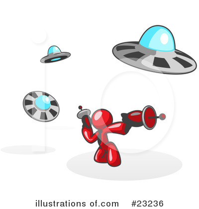 Alien Clipart #23236 by Leo Blanchette