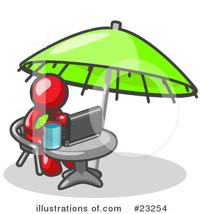 Vacation Clipart #23254 by Leo Blanchette