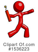 Red Design Mascot Clipart #1536223 by Leo Blanchette