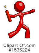 Red Design Mascot Clipart #1536224 by Leo Blanchette