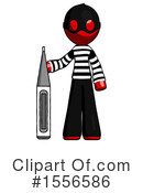 Red Design Mascot Clipart #1556586 by Leo Blanchette