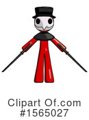 Red Design Mascot Clipart #1565027 by Leo Blanchette