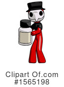 Red Design Mascot Clipart #1565198 by Leo Blanchette