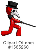 Red Design Mascot Clipart #1565260 by Leo Blanchette