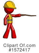 Red Design Mascot Clipart #1572417 by Leo Blanchette