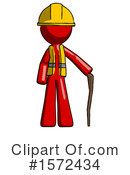 Red Design Mascot Clipart #1572434 by Leo Blanchette