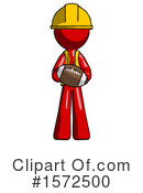 Red Design Mascot Clipart #1572500 by Leo Blanchette