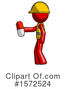 Red Design Mascot Clipart #1572524 by Leo Blanchette
