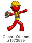 Red Design Mascot Clipart #1572599 by Leo Blanchette