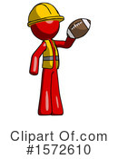 Red Design Mascot Clipart #1572610 by Leo Blanchette