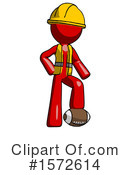 Red Design Mascot Clipart #1572614 by Leo Blanchette