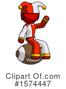 Red Design Mascot Clipart #1574447 by Leo Blanchette