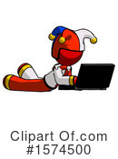 Red Design Mascot Clipart #1574500 by Leo Blanchette