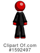 Red Design Mascot Clipart #1592497 by Leo Blanchette