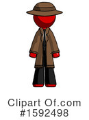 Red Design Mascot Clipart #1592498 by Leo Blanchette
