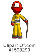 Red Design Mascot Clipart #1598290 by Leo Blanchette