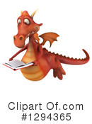 Red Dragon Clipart #1294365 by Julos