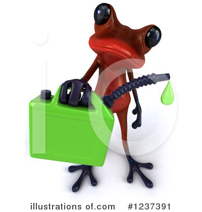 Red Frog Clipart #1237391 by Julos