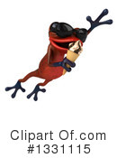 Royalty-Free (RF) Red Frog Clipart Illustration #1331115