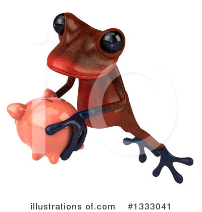 Red Frog Clipart #1333041 by Julos