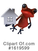 Red Frog Clipart #1619599 by Julos