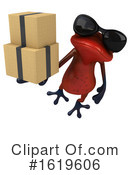 Red Frog Clipart #1619606 by Julos