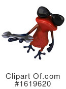 Red Frog Clipart #1619620 by Julos